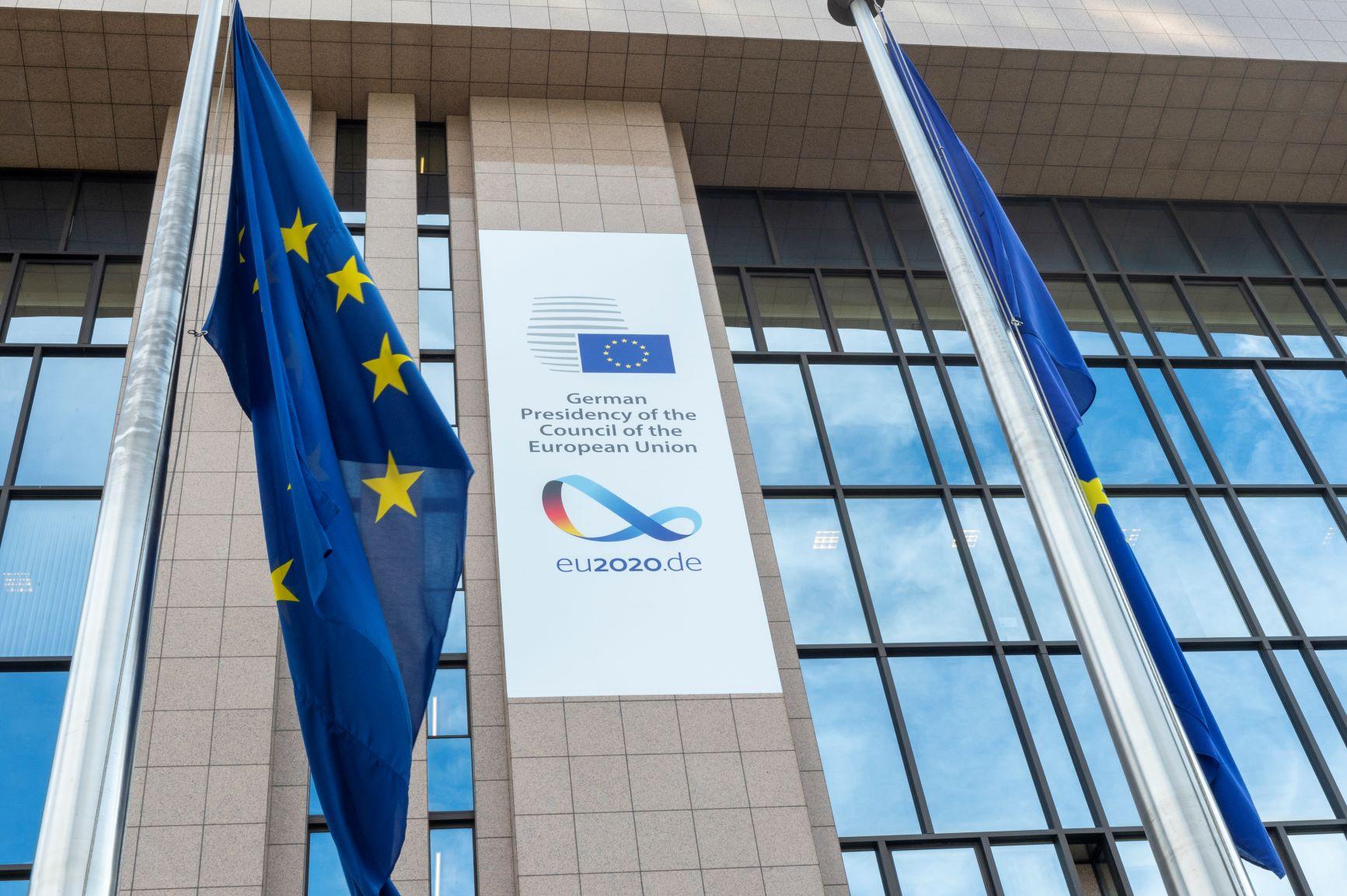 Decorations de la présidence allemande de l'UE © European Union